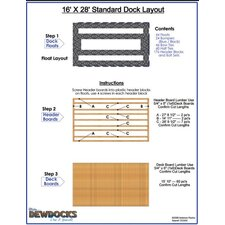 "192"" x 336"" Standard Dock Layout"