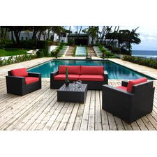 Pasadina 5 Piece Deep Seating Group with Cushions
