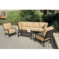 <strong>Bellini Home and Garden</strong> Monterey 7 Piece Deep Seating Group with Cushions