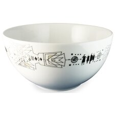 "<strong>Ink Dish</strong> Tug 10"" Serving Bowl"
