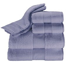 Elegance 6 Piece Towel Set in Moonstone