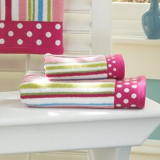 Bambini Polka Dot 6 Piece Towel Set