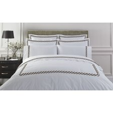 <strong>Kassatex Fine Linens</strong> Letto Studio Bedding Cable Duvet Cover Collection