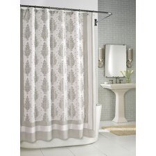 Roma Shower Curtain in Taupe