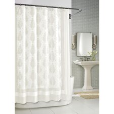 Roma Shower Curtain in White
