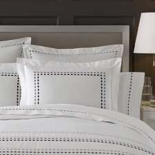 Letto Tribeka Bedding Pillow Case in White / Lavender (Set of 2)