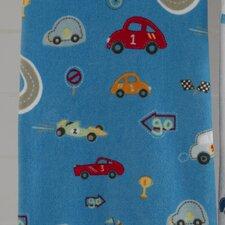 Bambini Racetrack Printed Bath Towel (Set of 6)