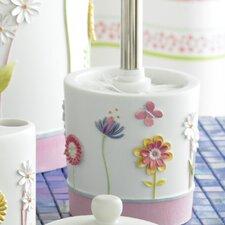 Bambini Garden Party Toilet Brush & Holder