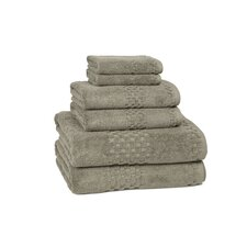 Hotelier 6 Piece Towel Set