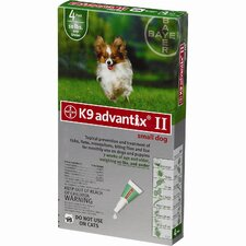 Flea Treatment for Dog 0-10 lbs (4 Pack)