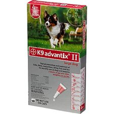 Flea Treatment for Dog 21-55 lbs (4 Pack)