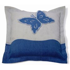 <strong>New Spec Inc</strong> Embroidery Butterfly Pillow