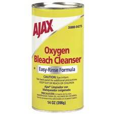 Oxygen Bleach Easy-Rinse Formula Cleanser No Chlorine (Pack of 48)