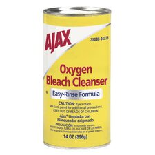 Oxygen Bleach Easy-Rinse Formula Powder Cleanser Canister