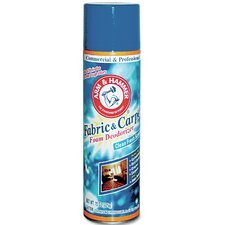 Fabric and Carpet Aerosol Foam Deodorizer - 15 oz (Pack of 6)