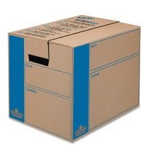 <strong>Bankers Box®</strong> SmoothMove Moving Box, Extra Strength, Small, 12w x 16d x 12h, Kraft, FastFold