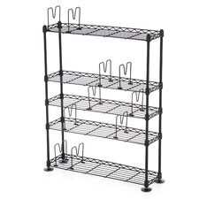<strong>Atlantic</strong> 5-Tier Adjustable Multimedia Storage Rack