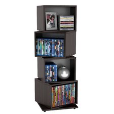 Rotating Media Storage Cubes (Set of 4)