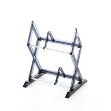 Mitsu 2 Tier Multimedia Tabletop Storage Rack