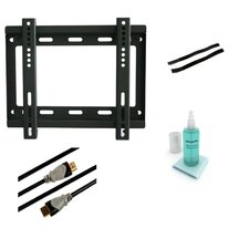 "Low Profile Fixed Wall Mount Kit for 10"" - 37"" Flat Panel Screens"