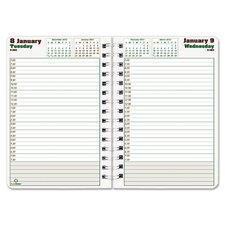 <strong>Blueline®</strong> Duraglobe 2013 Hard Cover Daily Planner