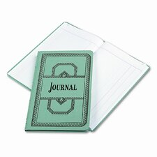 Record/Account Book, Journal Rule, Blue, 150 Pgs, 12-1/8 x 7-5/8, 2012