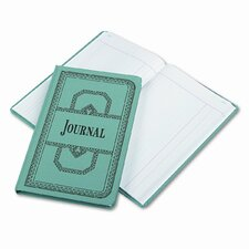 Record/Account Book, Journal Rule, Blue, 300 Pgs, 12-1/8 x 7-5/8, 2012