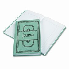 Record/Account Book, Journal Rule, Blue, 500 Pgs, 12-1/8 x 7-5/8, 2012