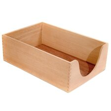 "<strong>Carver Wood Products, INC.</strong> Desk Tray, Wood, 5"" Deep, Legal, Oak"