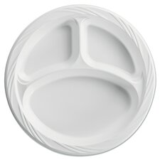 Plastic Plate (4 Pack of 125)