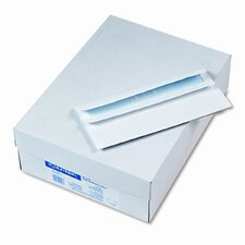 Self-Seal Business Envelopes w/Privacy Tint; #10, White, 500/box