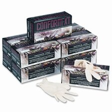 <strong>Conform</strong> XT Premium Latex Disposable Gloves, Powder-Free, Medium, 100 per Box
