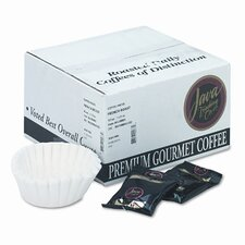 Coffee Portion Packs, 1-1/2oz Packs, French Roast, 42/CT