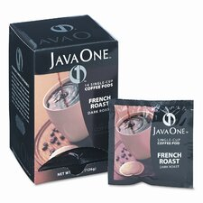 Single Cup Coffee Pods, French Roast, 14 Pods/Box