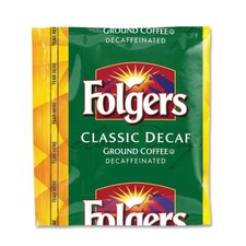 (42 per Carton) Folgers Classic Roast, Decaffeinated, 1.5 oz.