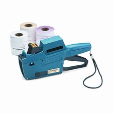 Model 22-8 1-Line/8-Char. Pricemarker Kit, Marker Gun/Ink Roll/9 Rolls Labels