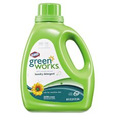 <strong>GREEN WORKS</strong> Natural Liquid Laundry Detergent (90 oz.)