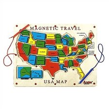 <strong>Anatex</strong> Magnetic Travel USA Map