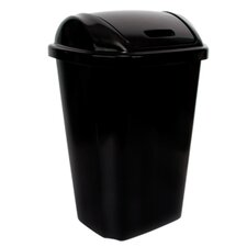 54-qt. Swing Lid Wastebasket (Set of 4)