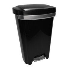 50-qt. Premium Step on Wastebasket (Set of 2)