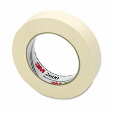 "Economy Masking Tape, 1"" X 60 Yards, 3"" Core"
