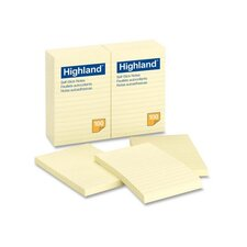 Memo Pad, 3 x 3, Yellow, 100 Sheets