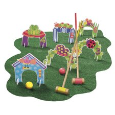 Jungle Combo Croquet Game Set