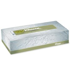 Kimberly-Clark Professional Softblend 2-Ply Facial Tissues - 125 Tissues per Box / 48 Boxes