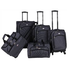 Oxford 5 Piece Luggage Set