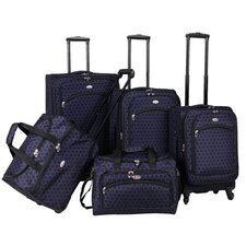 Favo 5 Piece Luggage Set