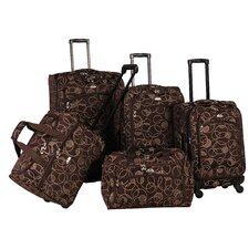 Swirl 5 Piece Luggage Set