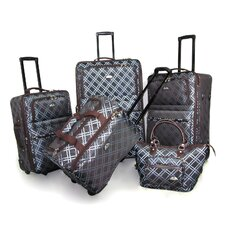 Pemberly Buckle 5 Piece Luggage Set