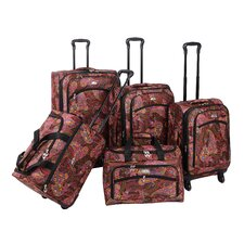 Paisley 5 Piece Luggage Set