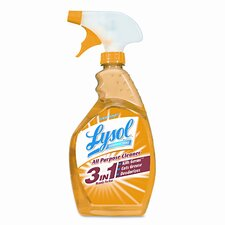 <strong>Lysol</strong> All-Purpose Cleaner, Lemon, 32oz Spray Bottle